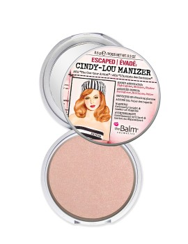 theBalm Cindy-Lou Manizer Highlighter, Shadow & Shimmer - Pink