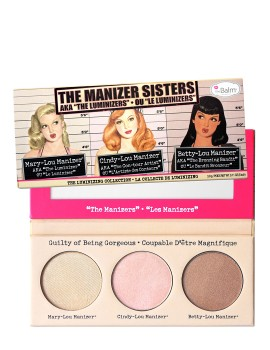 "theBalm The Manizer Sisters AKA The ""Luminizers"" Trio Makeup Palette"