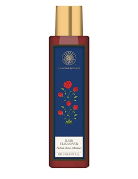 Forest Essentials Hair Cleanser Indian Rose Absolute