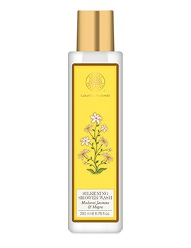 Forest Essentials Silkening Shower Wash Madurai Jasmine & Mogra