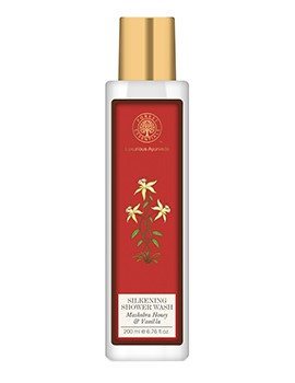 Forest Essentials Silkening Shower Wash Mashobra Wild Honey & Vanilla