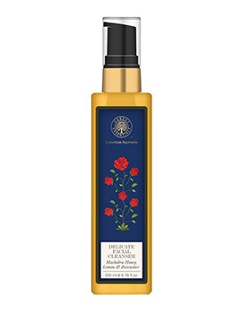 Forest Essentials Delicate Facial Cleanser Mashobra Honey, Lemon & Rosewater