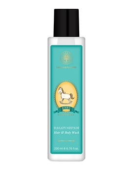 Forest Essentials Baby Hair & Body Wash Dasapushpadi