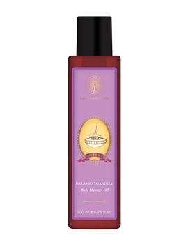 Forest Essentials Mother's Body Massage Oil Balaswagandha