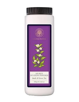Forest Essentials Silken Dusting Powder Oudh & Green Tea