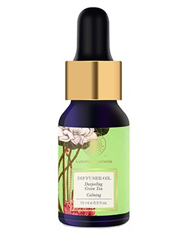 Forest Essentials Blended Essential Oil Green Tea RC & Citrus