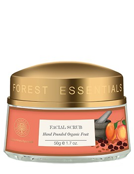Forest Essentials Hand Pounded Organic Fruit Facial Scrub