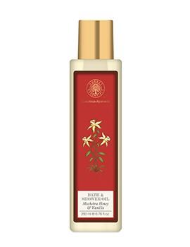 Forest Essentials Moisture Replenishing Bath & Shower Oil - Mashobra Honey & Vanilla