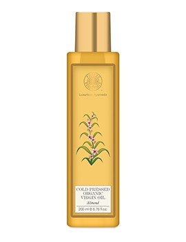 Forest Essentials Organic Cold Pressed Virgin Almond Oil