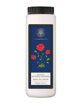 Forest Essentials Silken Dusting Powder Indian Rose Absolute
