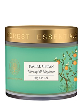 Forest Essentials Facial Ubtan Narangi & Nagkesar