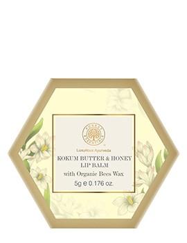 Forest Essentials Luscious Lip Balm - Kokum Butter & Honey