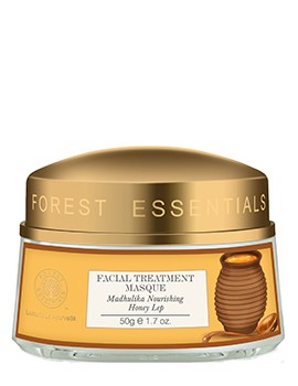 Forest Essentials Facial Treatment Masque Madhulika Nourishing Honey Lep