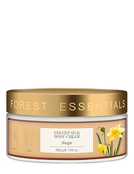 Forest Essentials Velvet Silk Body Cream Nargis