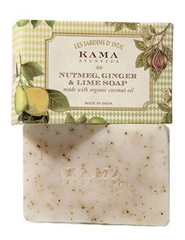 Kama Ayurveda Nutmeg, Ginger & Lime Soap