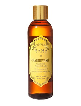 Kama Ayurveda Madhuvanti Calming Massage Oil