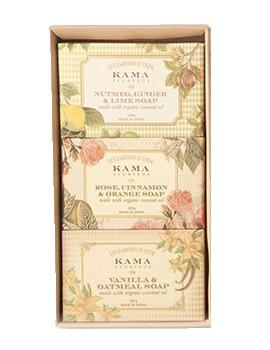 Kama Ayurveda Natural Soap Gift Box