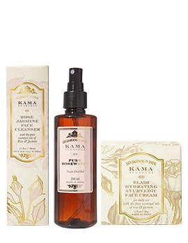 Kama Ayurveda Daily Face Care Regime for Women