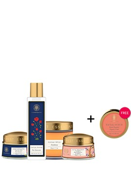 Forest Essentials Monsoon Regime For Combination Skin Combo