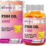 St.Botanica Fish Oil 1000 mg - Double Strength - 550 mg Omega 3