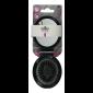 Buy Elite Models ABC5041A Compact Pocket Folding Hair Brush + Mirror - Black - Nykaa