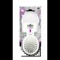 Buy Elite Models ABC5041B Compact Pocket Folding Hair Brush + Mirror - White - Nykaa