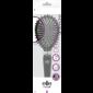 Buy Elite Models ABC5046B Detangling Purse Hair Brush - Black - Nykaa