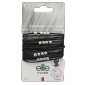 Buy Elite Models ABC5111A Fashion Hair Elastic Bands - Black - Nykaa