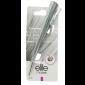 Buy Elite Models ABC5122B Fashion Hair Duck Clip - Silver - Nykaa