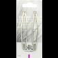 Buy Elite Models ABC5123A Fashion Hair Clips - Silver - Nykaa