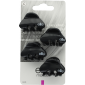 Buy Elite Models ABC5125A Fashion Mini Hair Clips - Black - Nykaa