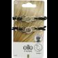 Buy Elite Models ABC5358A Prestige Hair Ornament - Silver - Nykaa