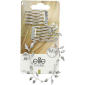 Buy Elite Models ABC5360A Prestige Hair Ornament - Silver - Nykaa
