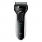 Buy Braun Series 3 3020 Rechargeable Electric Foil Shaver Black - Nykaa