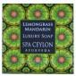 Buy Spa Ceylon Luxury Ayurveda Lemongrass Mandarin Luxury Soap - Nykaa