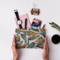 Buy DailyObjects Bird Of Paradise Leaves Carry-All Pouch Medium - Nykaa