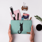 Buy DailyObjects Black Cat On Drapes Carry-All Pouch Medium - Nykaa