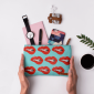 Buy DailyObjects Come Hither Blue Carry-All Pouch Medium - Nykaa