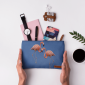 Buy DailyObjects Flamingo Contrast Carry-All Pouch Medium - Nykaa