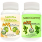 Buy Nutravigour Garcinia Cambogia Max 85% HCA Extract 800mg Veggie 90 Capsules With Green Coffee Max Extract Chlorogenic Acid (GCA) 800mg Vegetarian 90 Capsules - Pack Of 2 - Nykaa