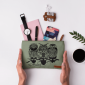 Buy DailyObjects Owls Of The Nile Carry-All Pouch Medium - Nykaa