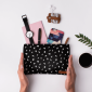 Buy DailyObjects Pips Black Carry-All Pouch Medium - Nykaa