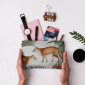 Buy DailyObjects Red Fox Pair Carry-All Pouch Medium - Nykaa