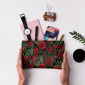 Buy DailyObjects Roses And Spots Small Carry-All Pouch Medium - Nykaa