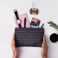 Buy DailyObjects Tiny Peaks Carry-All Pouch Medium - Nykaa