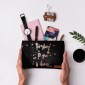 Buy DailyObjects Too Glam To Give A Damn Black Carry-All Pouch Medium - Nykaa