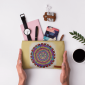 Buy DailyObjects Tribal Mandala Carry-All Pouch Medium - Nykaa