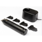 Buy Andis T-Edger II Rechargeable Cordless Travel Grooming Kit D3 Trimmer For Men (Black) - Nykaa