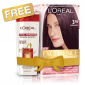 Buy L'Oreal Paris Excellence Creme Hair Color - 3.16 Burgundy + Free Total Repair 5 Shampoo - Nykaa