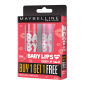 Buy Maybelline New York Baby Lips Buy 1 Get 1 Free - Cherry Kiss + Pink Lolita - Nykaa